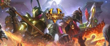 Dungeon Hunter 5 من الألعاب التي تشبه دايبلو للأندرويد