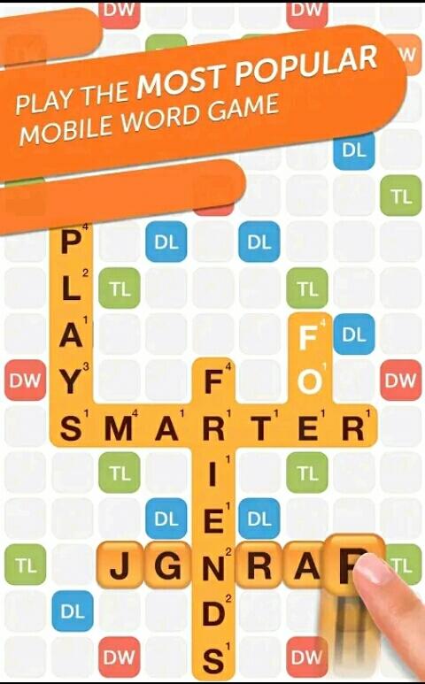 لعبة Words with Friends من أفضل الألعاب متعددة اللاعبين