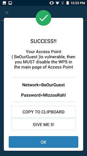 برنامج WPS WPA Tester