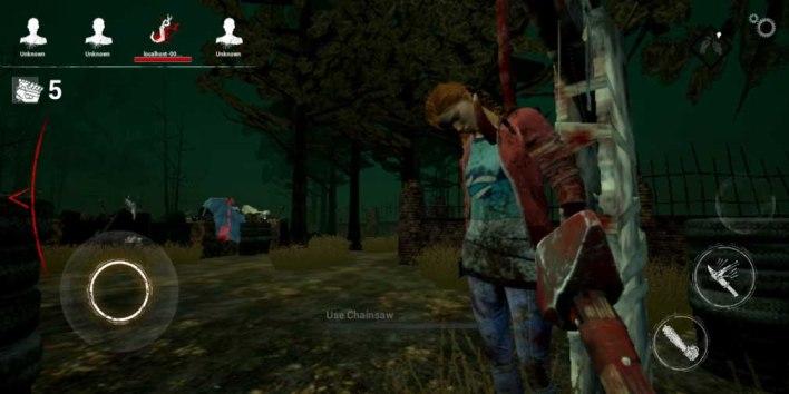 لعبة dead by daylight في نسختها الأصلية