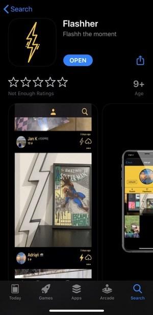 تطبيق فلاشر للصور المتحركة السريعة