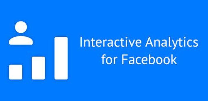 تطبيق Interactive Analytics for Facebook أحد تطبيقات الفيسبوك