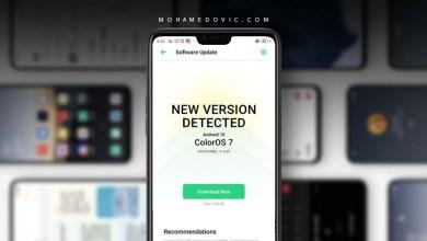 تحديث Android 10 اوبو F7