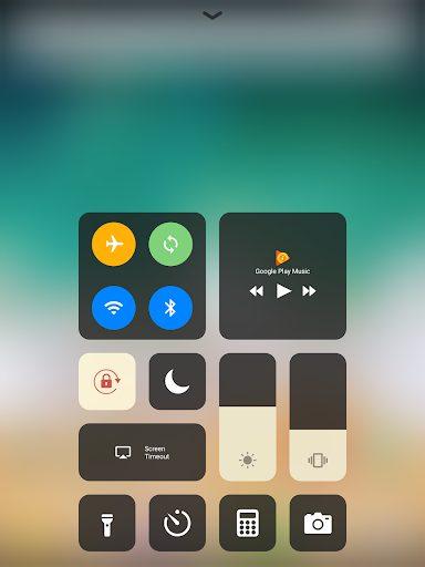 iOS Control Center Mohamedovic 02