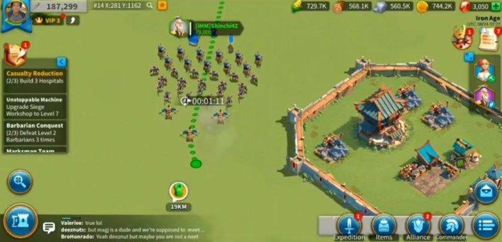 طريقة اللعب في لعبة Rise of Kingdoms: Lost Crusade 1.0.34.14