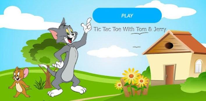 لعبة TicTacToe Game أحد العاب توم وجيري