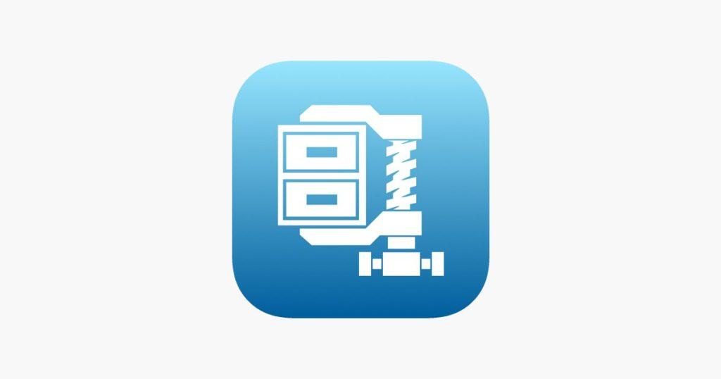 تطبيق WinZip لفتح الملفات المضغوطة
