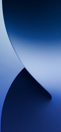 iOS 14 Midnight Blue Wallpaper Mod Mohamedovic 01