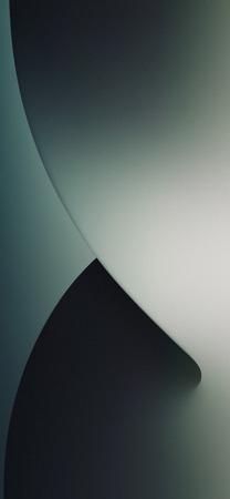 iOS 14 Midnight Green Wallpaper Mod Mohamedovic 02