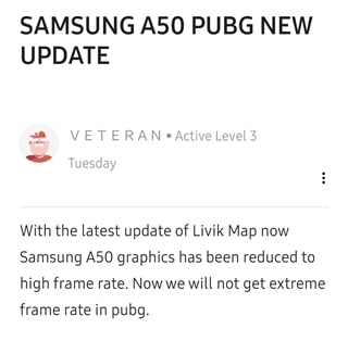 PUBG Mobile frame rate issue 1
