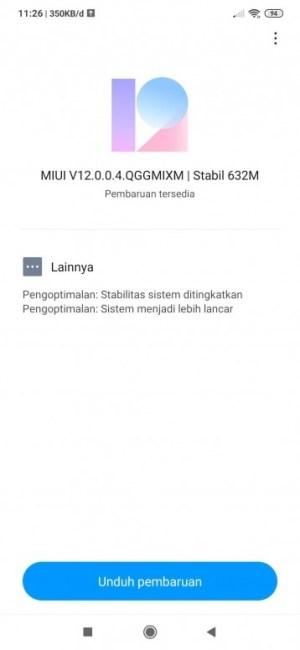تحديث MIUI 12 لهاتف ريدمي نوت 8 برو