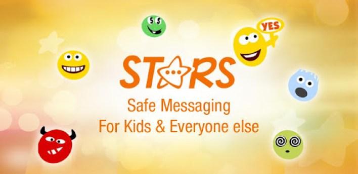 تطبيق Stars أحد بدائل الماسنجر للاطفال