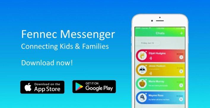 تطبيق Fennec Messenger أحد بدائل الماسنجر للاطفال
