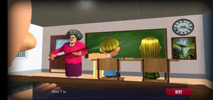 قصة لعبة المدرسة المخيفة