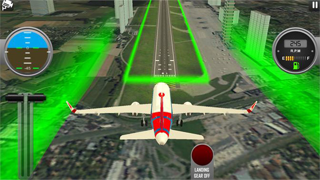 لعبة 3D Airplane Flight Simulator