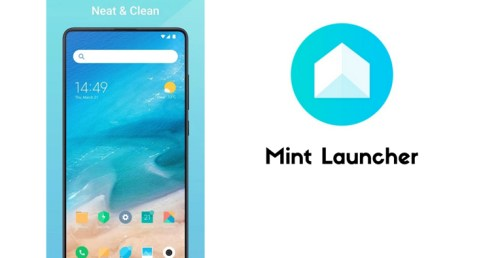 تطبيق Mint Launcher