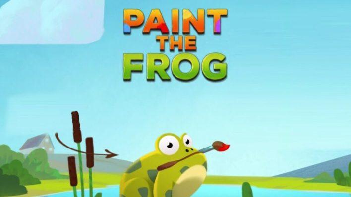لعبة Paint the Frog