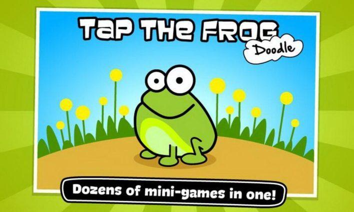 لعبة Tap the Frog: Doodle