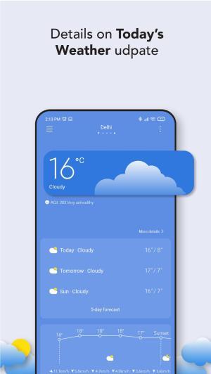 تطبيق Weather - By Xiaomi