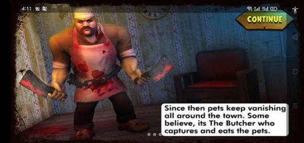 قصة لعبة Scary Butcher 3D