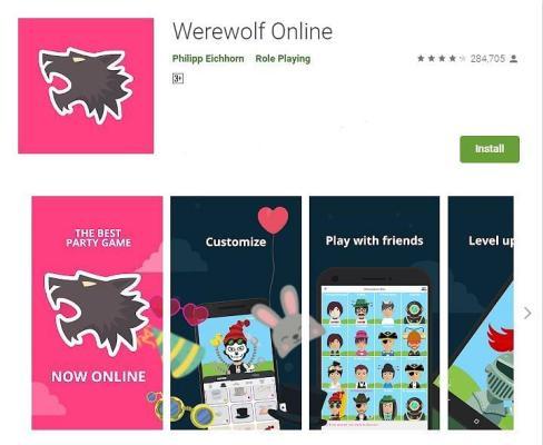 لعبة Werewolf Online