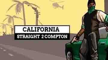 لعبة California Straight 2 Compton