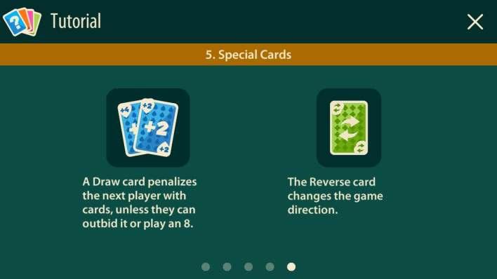 أوراق مساعدة أخرى في لعبة crazy 8 multiplayer