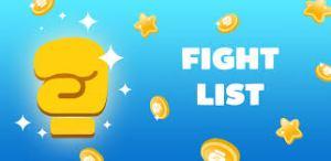 لعبة Fight List أحد ألعاب فودو