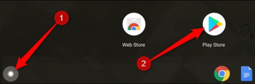 فتح متجر جوجل بلاي لتحميل التطبيقات في كروم بوك