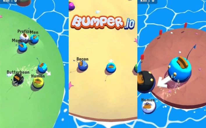 لعبة Bumper.io أحد ألعاب فودو