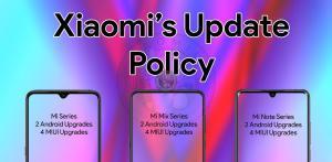 mi mix note update policy