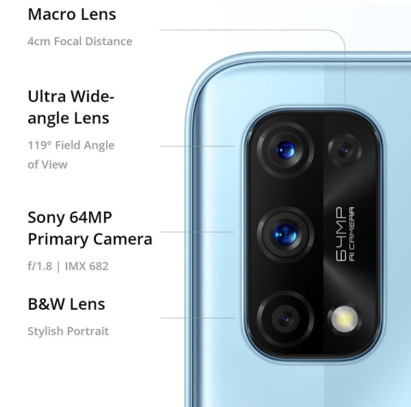 كاميرات ريلمي 7 برو