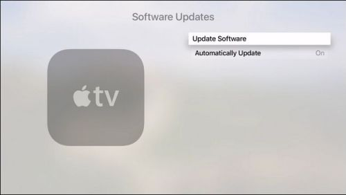اختيار Update Software