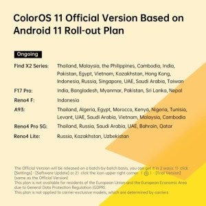 coloros 11 android 11 stable rollout 02