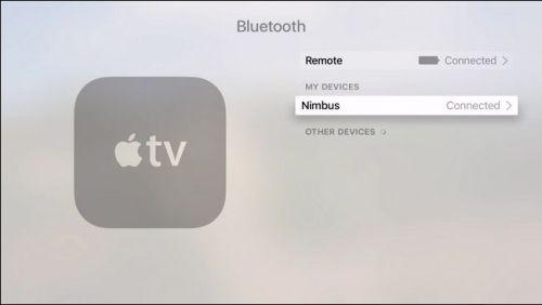 اتصال جهازك الابل تي في بجهاز Game Controller عن طريق البلوتوث