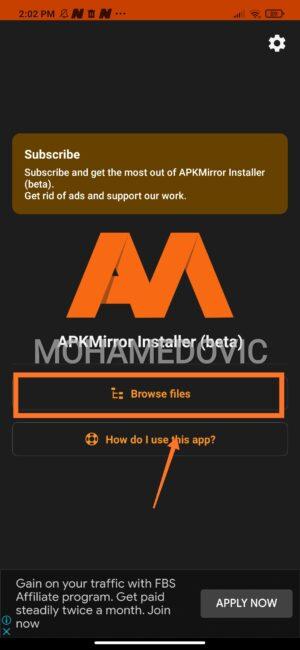 how to install apkm in smart tv3 e1605703528694