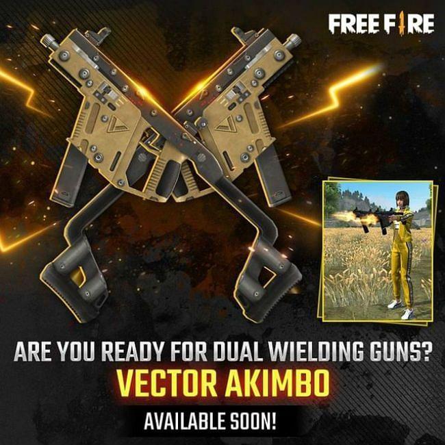سلاح اللعبة الجديد (Vector Akimbo)