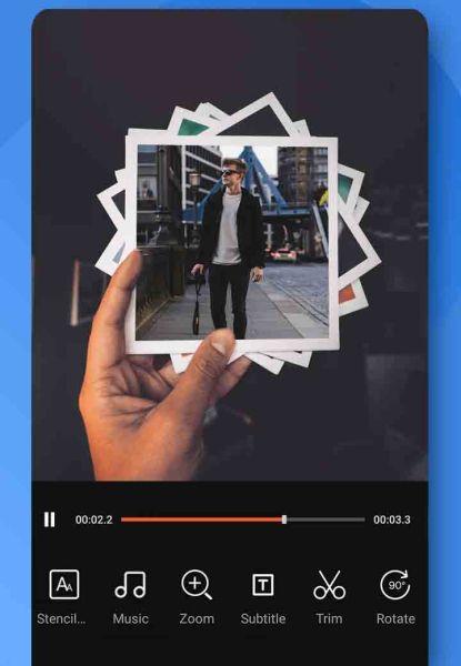 إطارات رائعة في تطبيق فيديو شو اندرويد