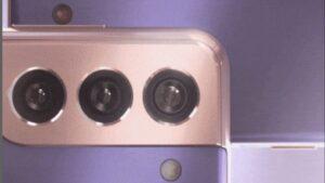 Samsung S21 camera