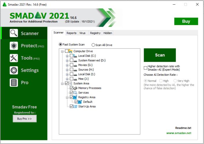 برنامج Samdav 2021