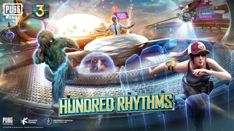 تحديث ببجي 1.3.0 Hundred Rhythms