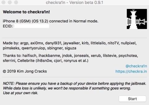 عمل جلبريك iOS 14.5