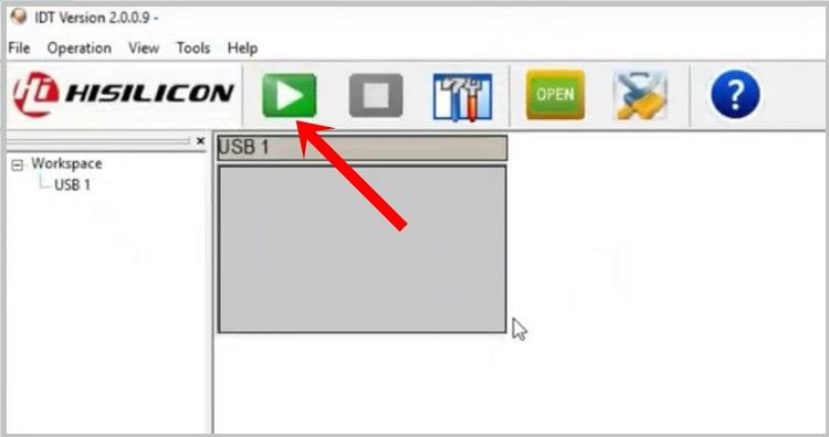 IDT tool 2.0 huawei flash