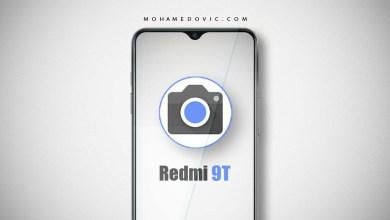 جوجل كاميرا لهاتف ريدمي 9t