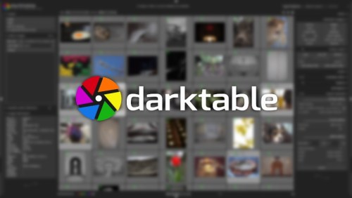 برنامج darktable