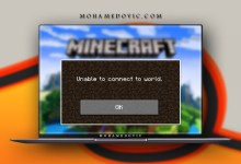 How to solve unable to connect in minecraft mohamedovc