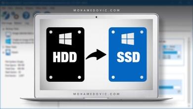 شرح نقل الويندوز من القرص الصلب إلى SSD