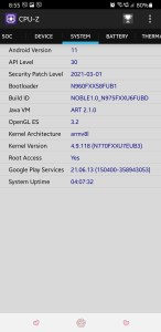 Samsung Galaxy Note 9 Android 11 ROM Mohamedovic 06