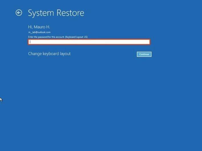 عمل نقطة استعادة النظام ويندوز 10 خاصية Restore Point 9