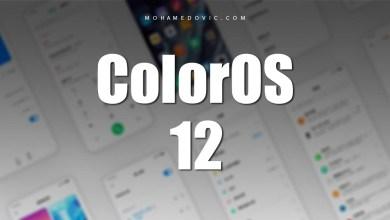تحديث ColorOS 12 لهواتف اوبو